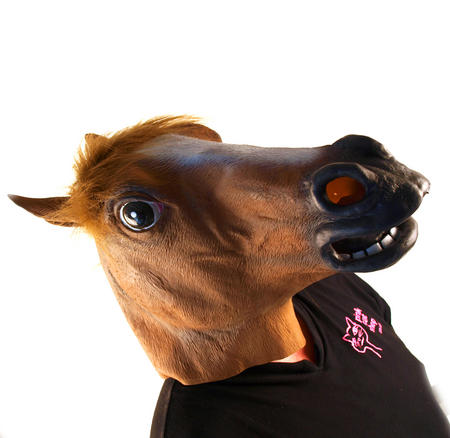 Horse Head - Lifesize Head Mask