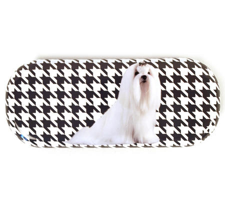 Dogtooth Glasses Case By Catseye