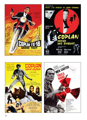 Kiss Kiss Kill Kill: The Graphic Art And Forgotten Spy Films Of Cold War Europe Thumbnail 2