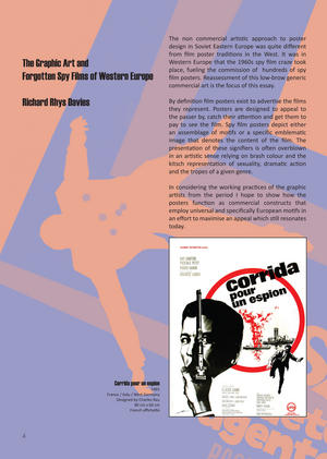 Kiss Kiss Kill Kill: The Graphic Art And Forgotten Spy Films Of Cold War Europe Thumbnail 4
