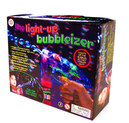 Bubbleizer - Light Up Bubble Gun