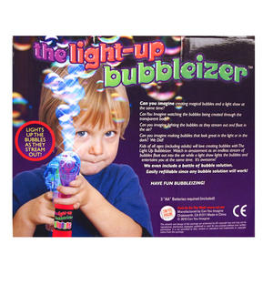 Bubbleizer - Light Up Bubble Gun Thumbnail 3