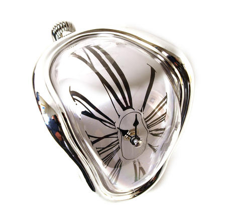 Dali Melting Clock - Surrealist Psychedelic Décor