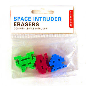 Space Invader Erasers Thumbnail 1