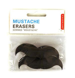Mustache Erasers Thumbnail 1