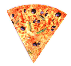 Pizza Slice Triangular 22cm Side Plate Thumbnail 1