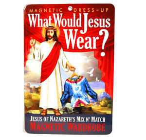 What Would Jesus Wear? Fridge Magnet Set Thumbnail 1