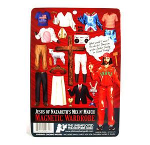 What Would Jesus Wear? Fridge Magnet Set Thumbnail 4