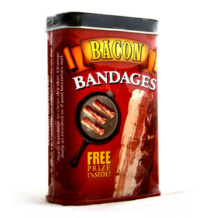 Bacon Strips - First Aid In A Tin - Plasters / Band Aids Thumbnail 1