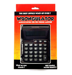 Wrongulator - The Calculator That Always Gives The Wrong Answer! Thumbnail 1