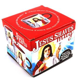 Jesus Shaves Mug Thumbnail 4