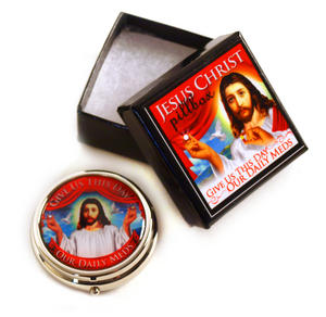 Jesus Pill Box - Give Us This Day Our Daily Meds Thumbnail 4