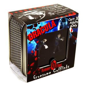 Dracula Cufflinks - Hammer Films X Cert Gruesome Cufflinks Thumbnail 3
