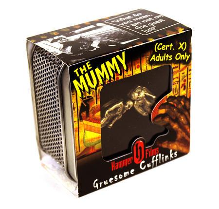 Cufflinks - The Mummy Hammer Films X Cert Gruesome Cufflinks