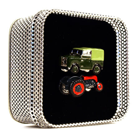 Cufflinks - Land Rover - Retro Tractor & Land Rover