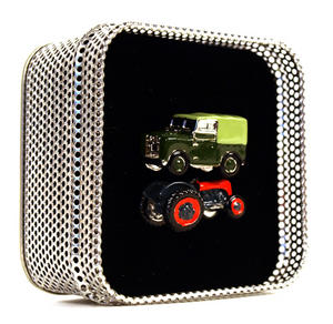 Cufflinks - Land Rover - Retro Tractor & Land Rover Thumbnail 1