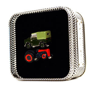 Cufflinks - Land Rover - Retro Tractor & Land Rover Thumbnail 3