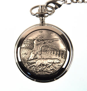 Sporting Shoot Pocket Watch Thumbnail 1