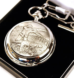 Sporting Shoot Pocket Watch Thumbnail 3