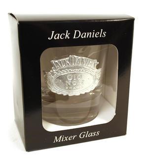 Jack Daniels Bourbon Mixer Glass - Round Thumbnail 3