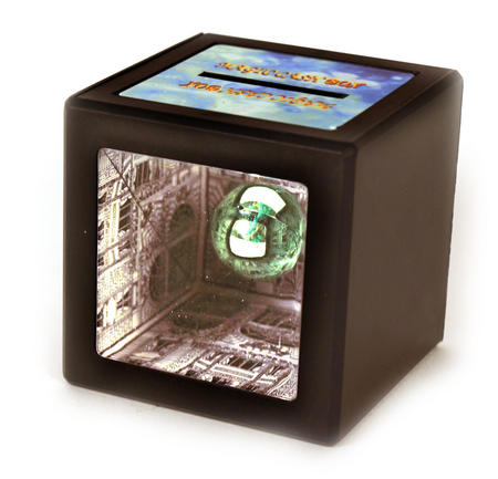 Hidden Cash - Optical Illusion Money Box