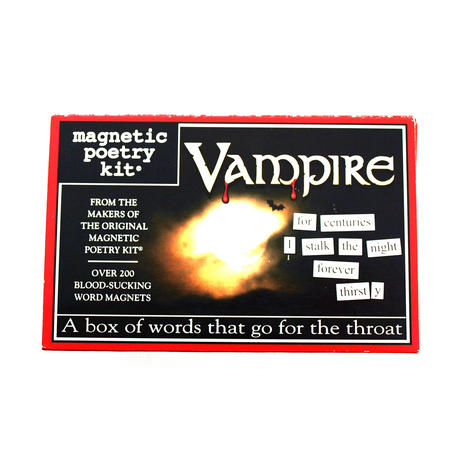 Vampire Fridge Magnet Poetry Set - Fridge Poetry