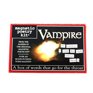 Vampire Fridge Magnet Poetry Set - Fridge Poetry Thumbnail 1