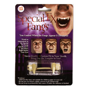 Special Fx Fangs - Retractable Vampire Teeth