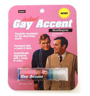 Instant Gay Accent Mouth Spray Thumbnail 1