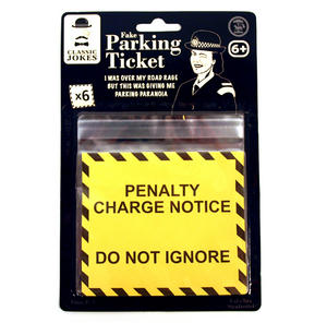 Fake Parking Ticket Thumbnail 1