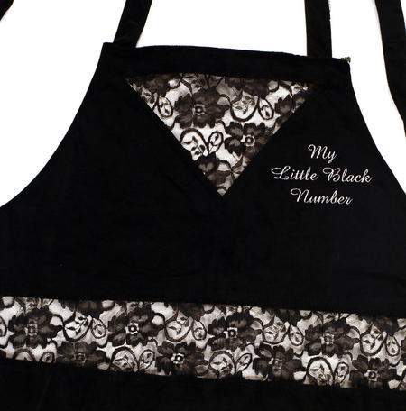 Little Black Number Apron