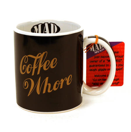 Coffee Whore Mad Mug
