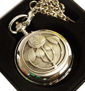 4 Bud Charles Rennie Mackintosh Pocket Watch Thumbnail 2
