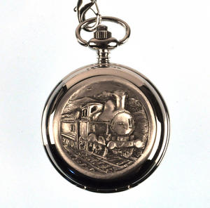 Days Of Steam Railway Pocket Watch Thumbnail 1