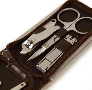 Classic Manicure Set - Medium Brown