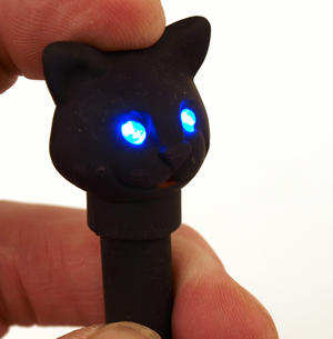 Cat Pen With Led Torch And Sound Effects. Thumbnail 1