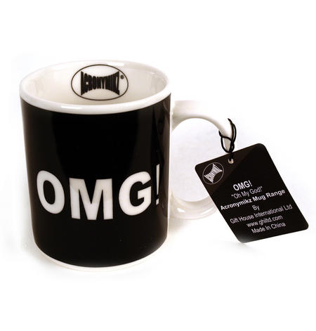 Omg 'Oh My God' Mug