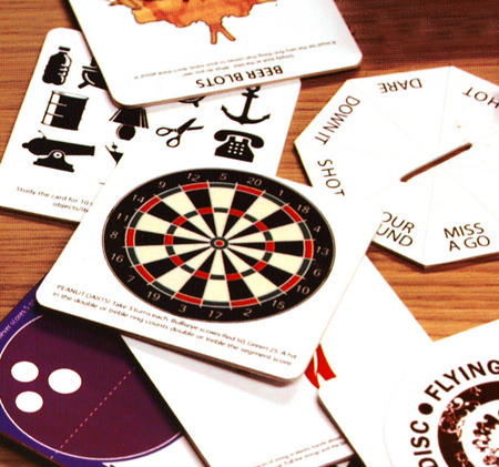 Bar Games Beer Mats