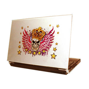 Laptop Tattoo - Winged Skull King Thumbnail 1