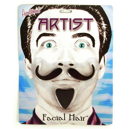 The Artist Moustache Set