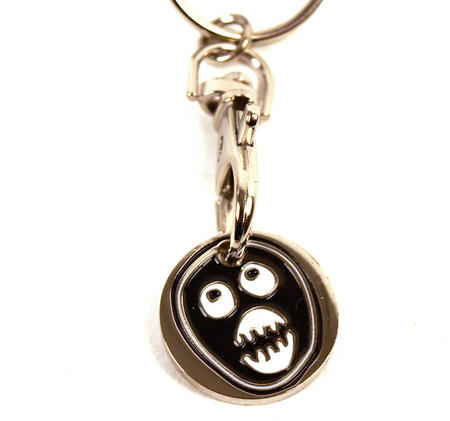 The Mighty Boosh - Trolley Coin  Keyring