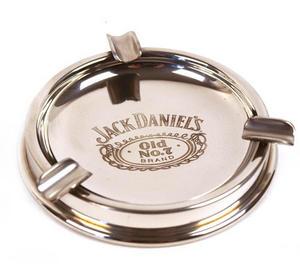 Jack Daniels Pewter Ashtray Thumbnail 1
