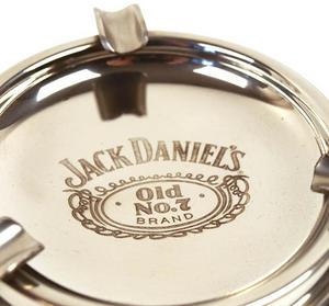 Jack Daniels Pewter Ashtray Thumbnail 2