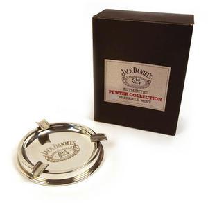 Jack Daniels Pewter Ashtray Thumbnail 4