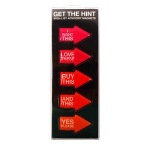 Advisory Fridge Magnet Set- Get The Hint Thumbnail 2