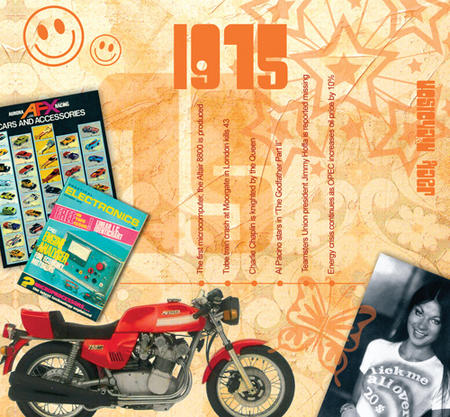 1975 The Classic Years 20 Track Cd Greetings Card