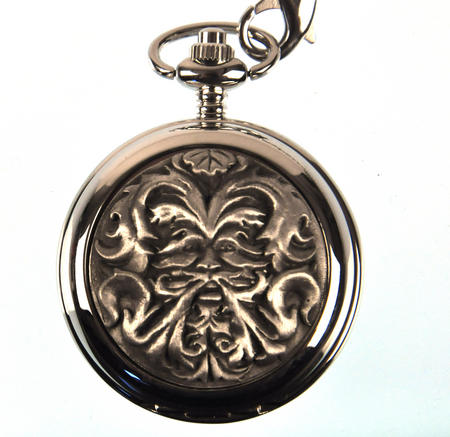Green Man Pocket Watch