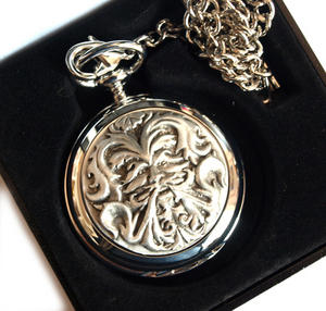 Green Man Pocket Watch Thumbnail 2