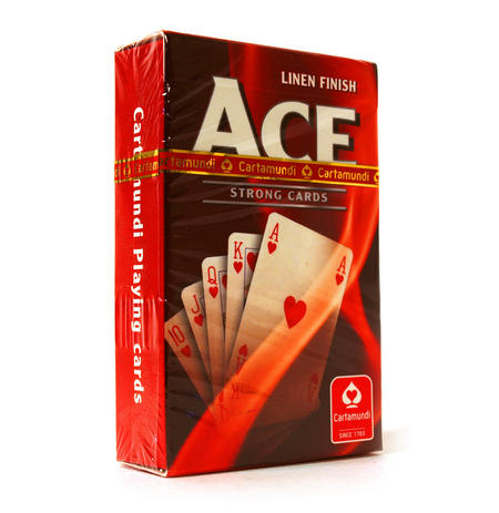 Ace Linen Finish Strong Playing Cards