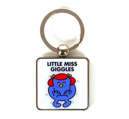 Mr Men Keyring - Little Miss Giggles